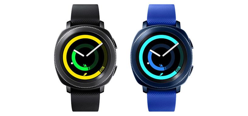 Samsung apunta a los deportistas con su reloj inteligente Gear Sport, con GPS y NFC