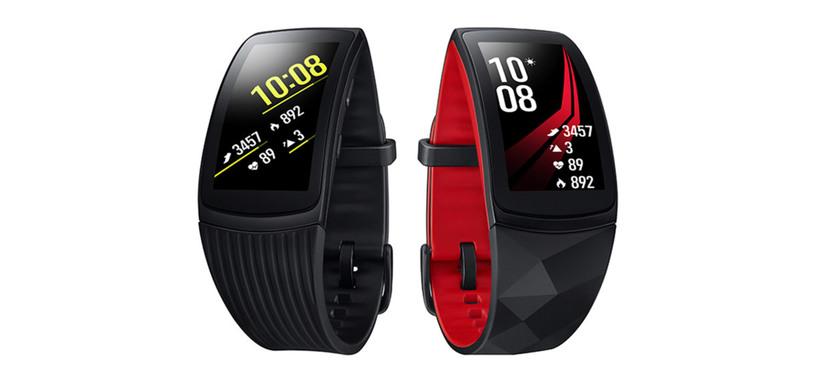 Samsung presenta la pulsera de actividad Gear Fit2 Pro