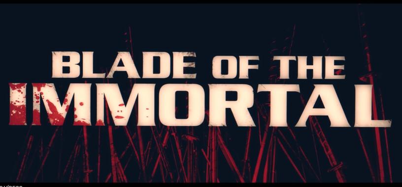 Este es el tráiler de la película de imagen real de 'Blade of the Immortal'