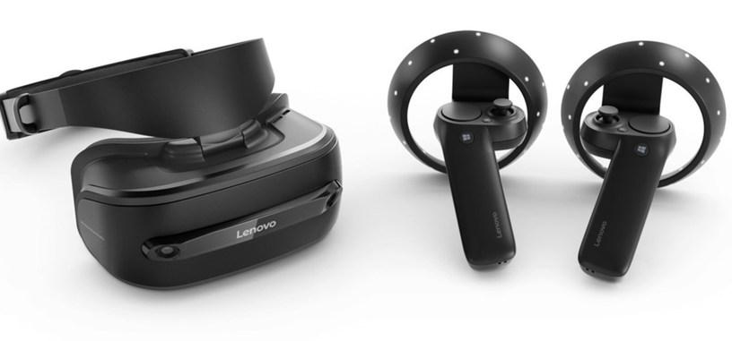 Lenovo pondrá a la venta sus gafas para la Realidad Mixta de Windows en octubre por €349