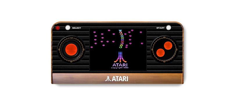 Esta consola retro portátil de Atari apelará también a tu nostalgia