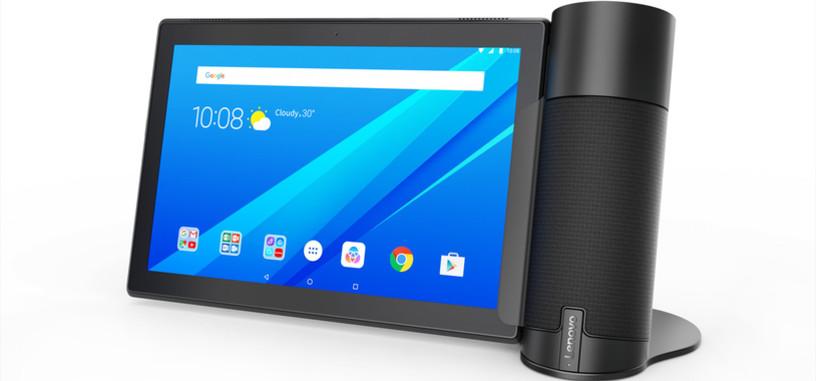 Lenovo presenta su nuevo altavoz con Alexa para sus propias tabletas