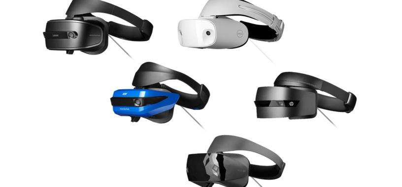 Todas las gafas para la Realidad Mixta de Windows se pondrán a la venta el 17 de octubre