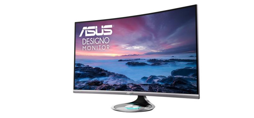 ASUS presenta nuevos monitores curvos Designo Curve MX38VC y MX32VQ