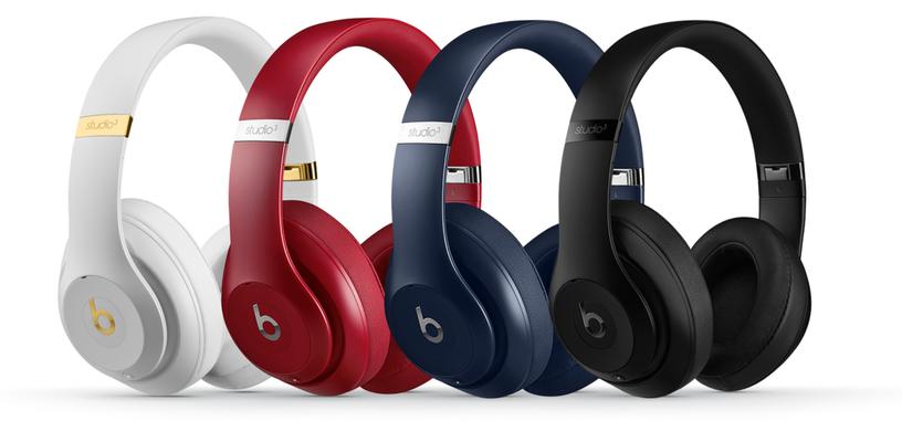 Los Studio3 Wireless de Beats mejoran la cancelación de ruido y tienen más autonomía