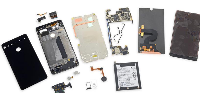 El teléfono de Essential recibe la peor nota de reparabilidad de iFixit