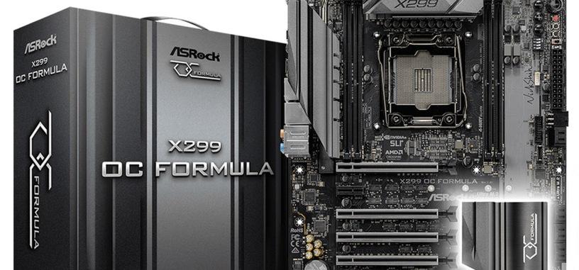 ASRock presenta X299 OC Formula, centrada en 'overcloking', sin «características inútiles»