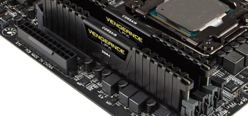 Corsair presenta sus módulos DDR4 Vengeance LPX de 4600 MHz