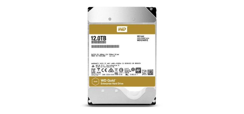 Western Digital pone a la venta su disco duro de 12 TB relleno de helio