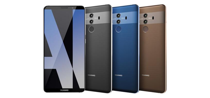 Esta imagen mostraría el Mate 10 Pro al que Huawei podría poner un precio de 940 €