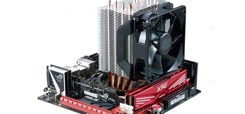Cooler Master presenta las refrigeraciones compactas H411R y H412R