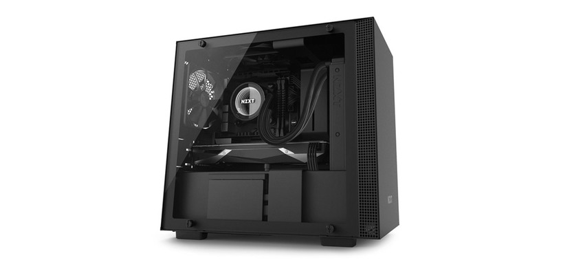 NZXT presenta la serie H de cajas de PC, buen diseño, iluminación y ventiladores RGB