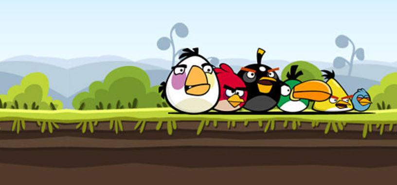 Serie de animación y película de Angry Birds