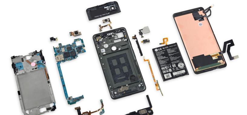 iFixit desmonta un Pixel 2 XL para mostrar su interior y el chip personalizado de Google