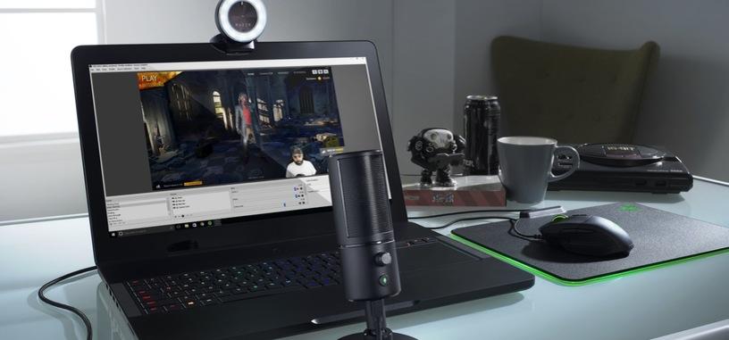 Razer presenta Kiyo y Seiren X, nueva cámara y micro para directos y creación de contenidos