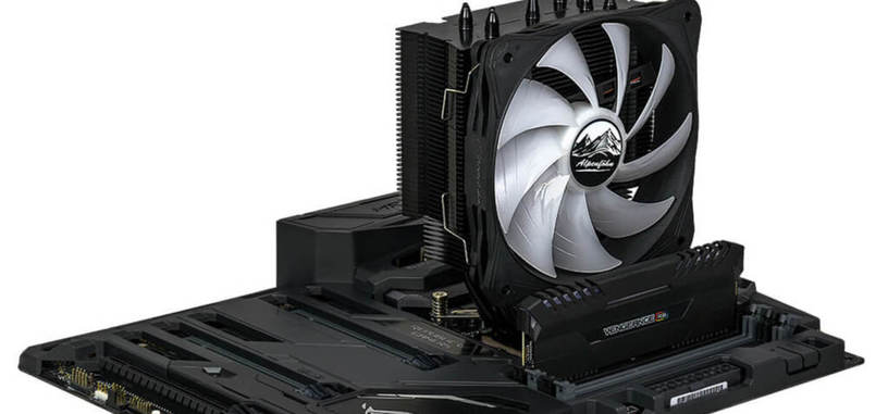 Alpenföhn presenta Ben Nevis Advanced Black con ventilador de 130 mm con RGB