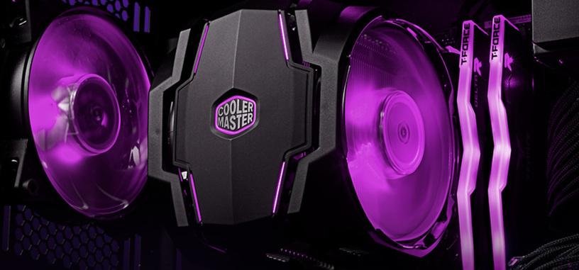 Cooler Master añade iluminación RGB a la nueva refrigeración MasterAir MA410P y MA610P