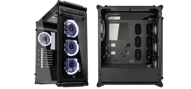 Raijintek presenta la Coeus Evo, USB tipo C frontal y paneles de cristal