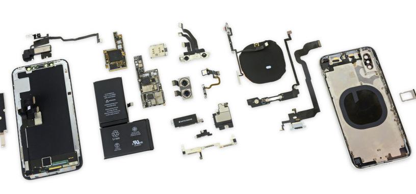 Apple pone a la venta el iPhone X, y iFixit procede a su desmontaje