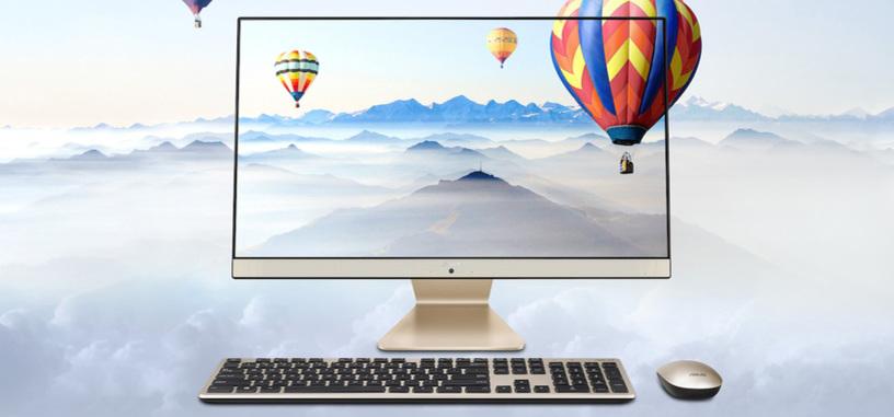 ASUS presenta el todo en uno Vivo V241IC, pantalla de marcos finos y hasta un Core i5-8250U