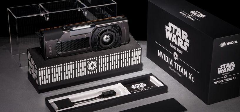 Nvidia crea una edición de coleccionista de la Titan Xp con motivo de Star Wars