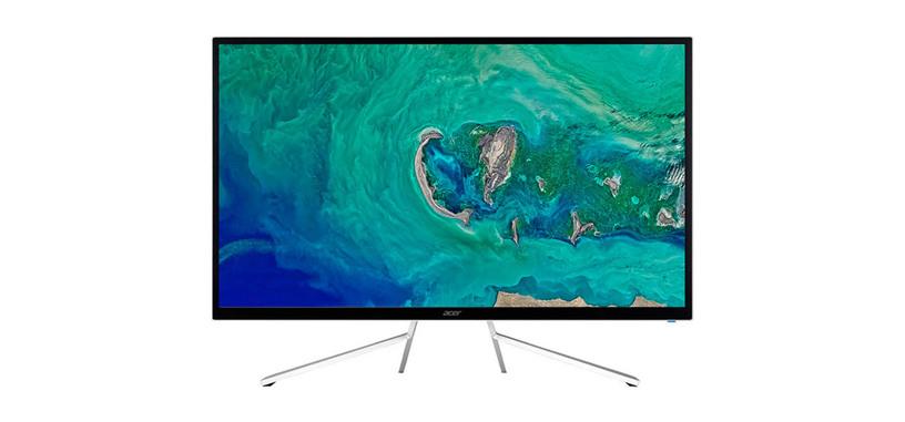 Acer presenta ET322QK, monitor 4K UHD con HDR10 y FreeSync