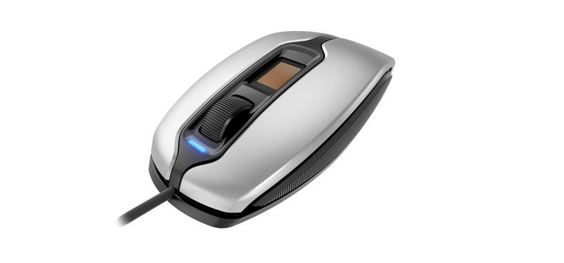 Cherry añade un lector de huellas al ratón MC 4900