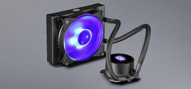 Cooler Master pone a la venta la RL económica MasterLiquid ML RGB de 120 y 240 mm