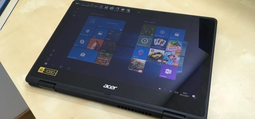 Análisis: Acer Spin 5, un convertible asequible