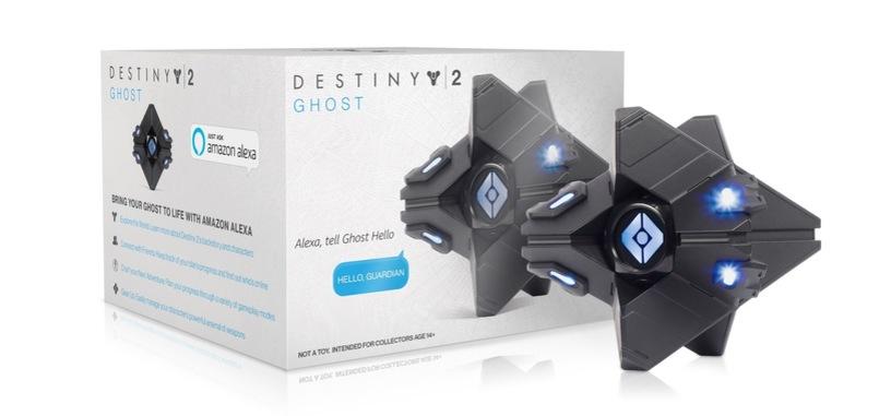 Activision presenta un altavoz con Alexa que es una réplica de Espectro de 'Destiny 2'