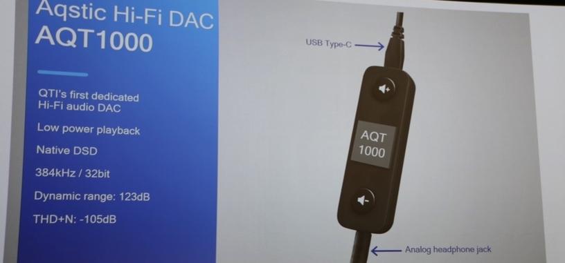 Qualcomm anuncia un DAC de alta fidelidad para audio por USB-C a conector de 3.5 mm