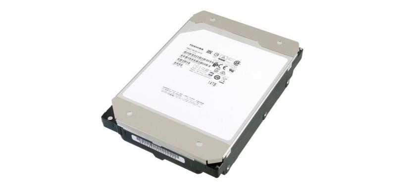Toshiba anuncia su disco duro de 14 TB relleno de helio