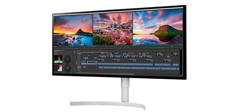 LG anuncia sus monitores Nano IPS de color superior con HDR y Thunderbolt 3