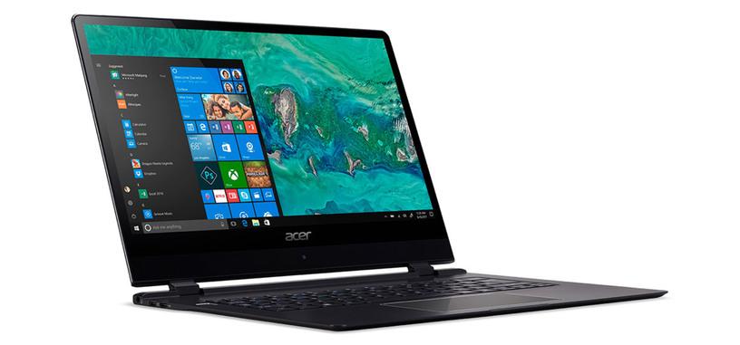 Acer vuelve a presentar «el portátil más fino del mundo», el Swift 7 con conectividad 4G