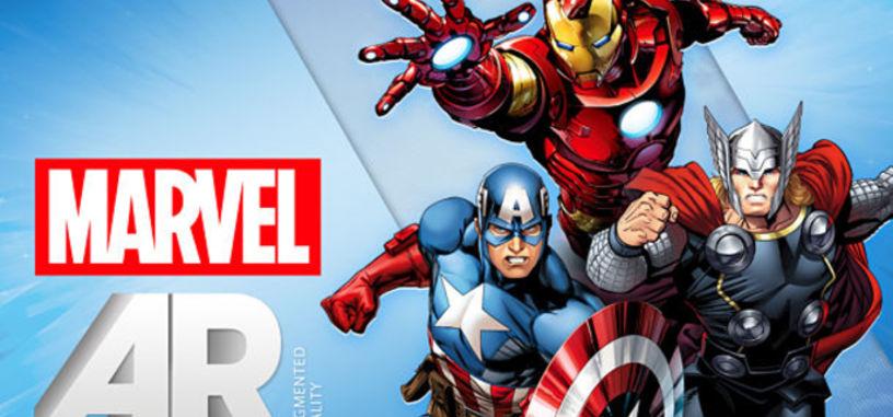 Realidad aumentada en los comics Marvel