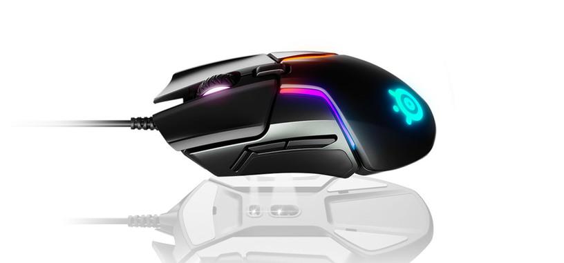 SteelSeries presenta el Rival 600, con pesos extra, iluminación RGB y sensor de profundidad