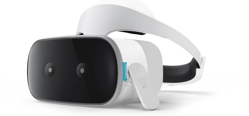 Lenovo muestra sus gafas autónomas de RV con Daydream, las Mirage Solo