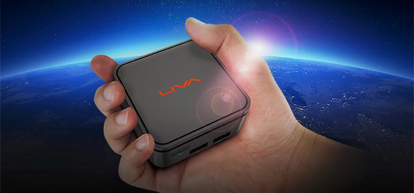 Los nuevos LIVA son unos mini-PC con SoC Gemini Lake que llegan a ser muy pequeños
