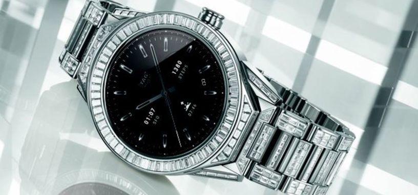 TAG Heuer anuncia un nuevo reloj inteligente, pero este es de 160 000 euros con diamantes
