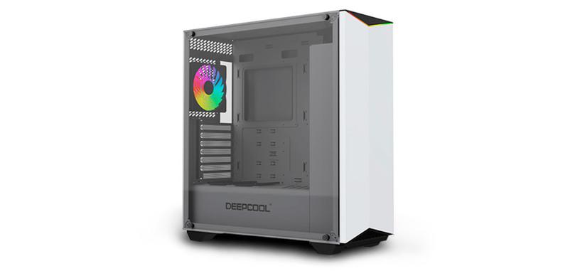 DeepCool presenta Earlkase RGB, una caja en color blanco con iluminación integrada