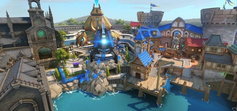 Ya está disponible el nuevo mapa de 'Overwatch' a lo Disneyland, y nuevos objetos cosméticos