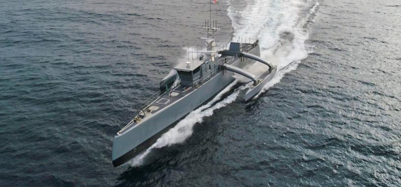 DARPA pasa el desarrollo del dron naval a la Armada