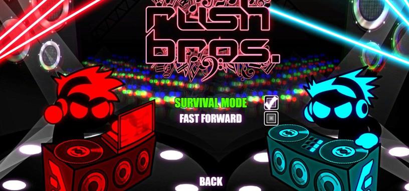 Análisis: Rush Bros, tu música y a correr