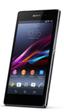El precio del teléfono Sony Xperia Z1 será de 699 euros