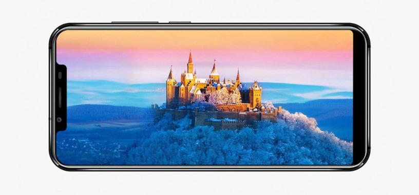 Oukitel presenta un clónico del iPhone X, con pantalla 21:9 para la gama media