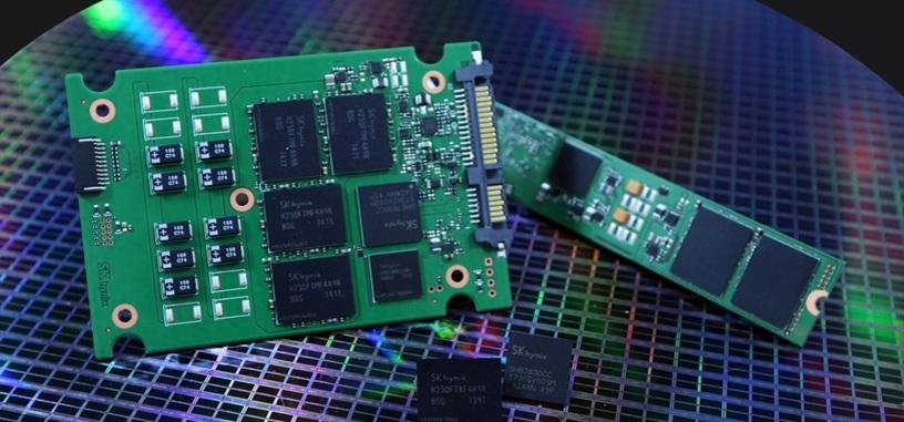 SK Hynix anuncia el desarrollo de chips NAND 3D de 72 capas y 512 Gbits