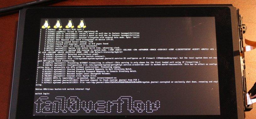 Linux en Nintendo Switch ya es una realidad, y una posible puerta al 'software' casero