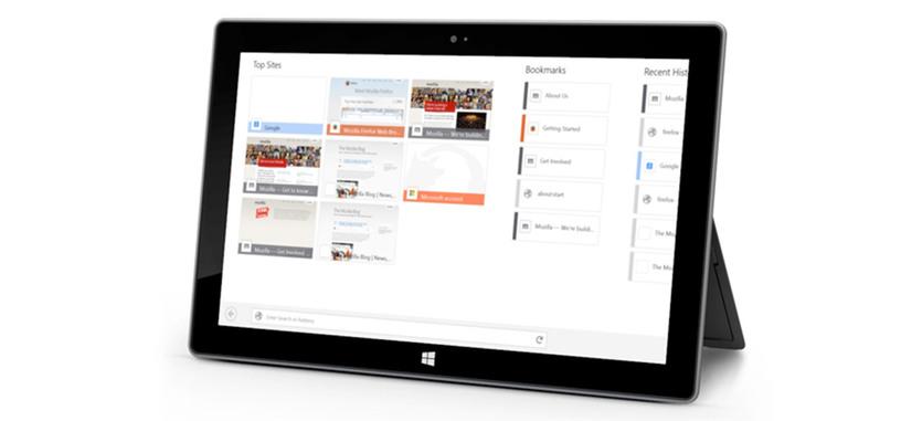 Mozilla presenta la versión previa de Firefox para Windows 8