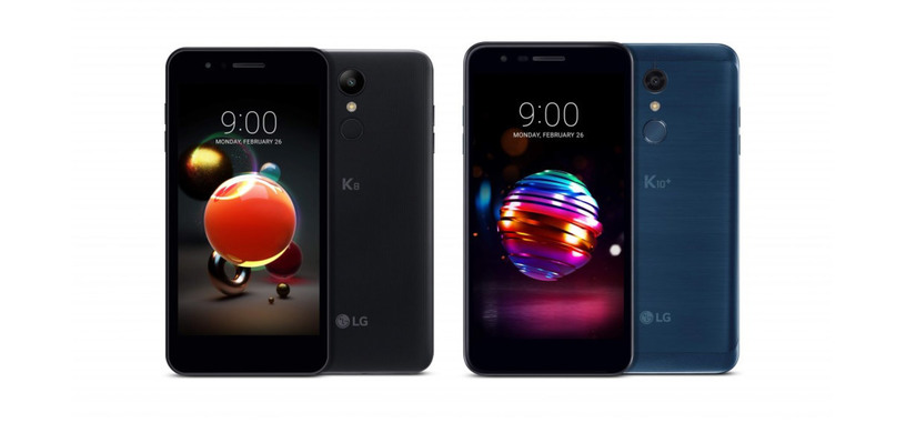 LG anuncia unos renovados K8 y K10 para la gama media