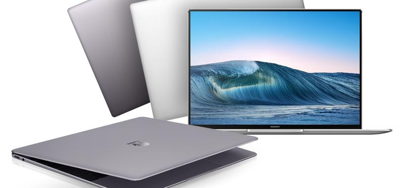 Huawei presenta el ultraportátil MateBook X Pro, diseño minimalista con Core i7-8550U y MX150